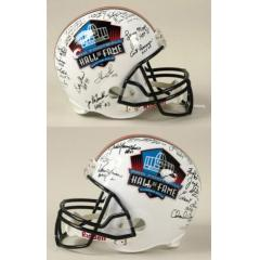 Pro Football Hall of Fame Signed Helmet