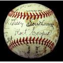 1941 Cardinals Team Signed Baseball