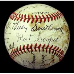 1941 Cardinals Team Signed Baseball