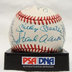 1,500 RBI Club Autographed Baseball