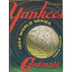 1964 World Series Program - Yankees v Cardinals