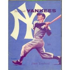 1960 Yankees Team Yearbook