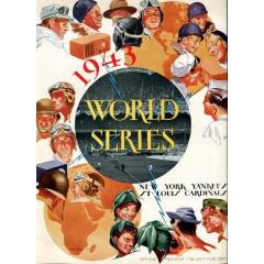 1943 World Series Program - Yankees v Cardinals