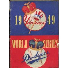 1949 World Series Program - Yankees v Dodgers