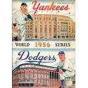 1956 World Series Program - Yankees v Dodgers