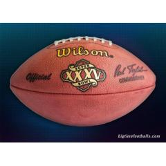 Limited Edition - Super Bowl XXXV Championship Football