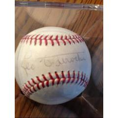 Leo Durocher Autographed Baseball