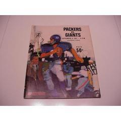 1967 Packers V Giants Game Program