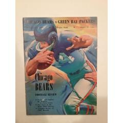 1961 Packers v Bears Game Review Publication