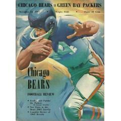 1961 Bears v Packers Game Program