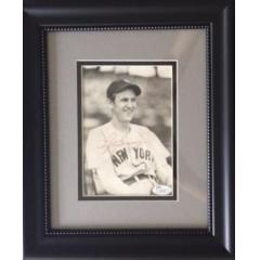 Vintage Lefty Gomez Signed 8 x 10 Photo
