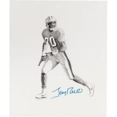 Jerry Rice Signed Original Print