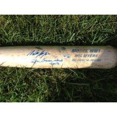Wil Myers Rookie Season Game Used Bat