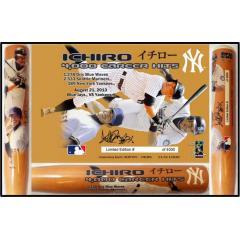 Ichiro 4,000 Career Hits Commemorative Bat