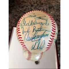 1981 NL All Stars Signed Baseball
