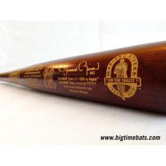 Mariano Rivera Career Achievement Tribute Bat