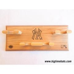 Yankees Logo 4 Bat Display Rack