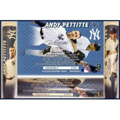 Andy Pettitte Career Tribute Bat