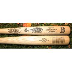 2013 Red Sox AL Champions Louisville Slugger