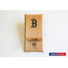 Red Sox Logo Custom Bat Rack