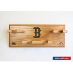 Red Sox Custom Logo 4 Bat Rack
