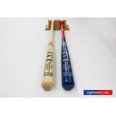 NEW OFFER - Non Matched Two Bat Set with Custom Display