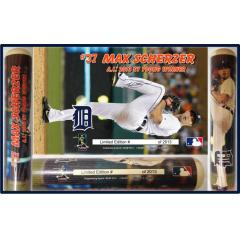 Max Scherzer 2013 Cy Young Award Photo Bat
