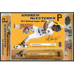 Andrew McCutchen 2013 NL MVP Photo Bat