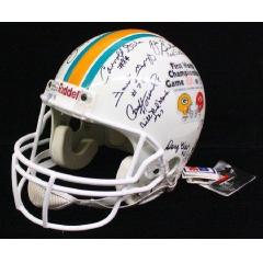 Packers Legends Autographed Helmet