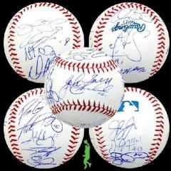 2013 Red Sox Signed Baseball - 20 Autographs