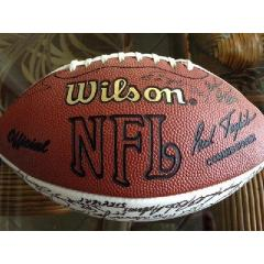 Rare Autographed Football - Over 150 Signatures