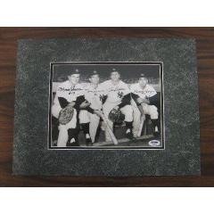1961 Yankees Infield Signed Photograph