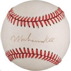 Muhammad Ali Signed Baseball
