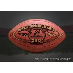 Exclusive Release - Official AFC Championship Game Ball
