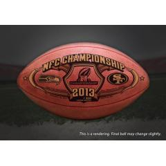 Exclusive Release - Official NFC Championship Game Ball