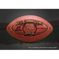 Broncos AFC Champions Game Ball