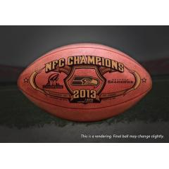 Seahawks NFC Champions Game Ball
