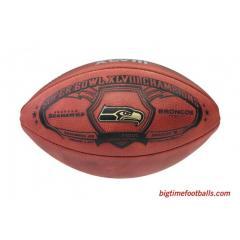 Seahawks Super Bowl XLVIII Champions Game Ball