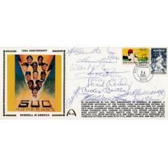 Legends Signed 150th Anniversary First Day Cover