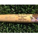 George H. W. Bush Signed Presidential Collection Bat