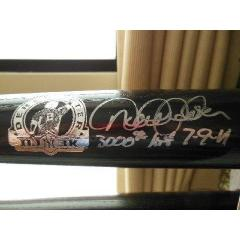 Derek Jeter Signed & Inscribed 3,000 Hit Bat