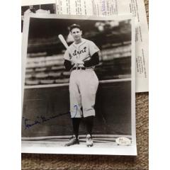 Hank Greenberg Signed Photograph