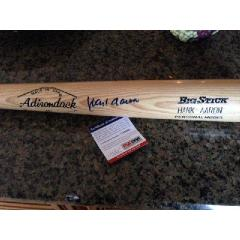 Hank Aaron Signed Adirondak Big Stick Bat