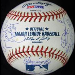 2005 White Sox World Series Champs Team Signed Baseball