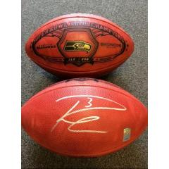 Russell Wilson Autographed Super Bowl Champions Football