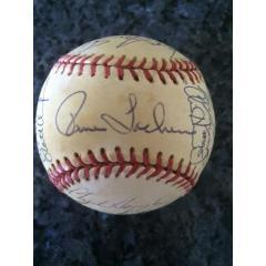 1993 Florida Marlins Team Signed Baseball
