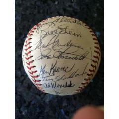 1975 Chicago White Sox Team Signed Ball