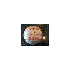 1971 Milwaukee Brewers Team Signed Baseball