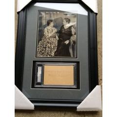Helen Keller Presentation - Photo and Inscription with Signture