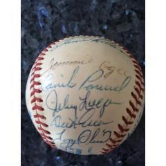 Warren Spahn Baseball Collection - 24 Signatures